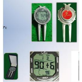 Golf Divot Scorer/Clock/Stopwatch