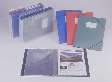 CLEAR BOOK 20P*3 PCS , A4 ; 3 PCS OF DB425 & P.P. CASE