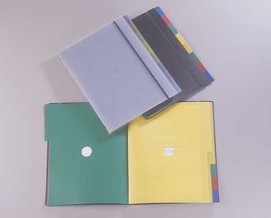 INDEX FOLDER,A4 8 DIVIDERS (Папку индекса, A4 8 Делители)
