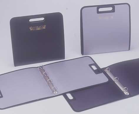 1`` 4 ``0`` RING BINDER , A4 ; WITH SEWING