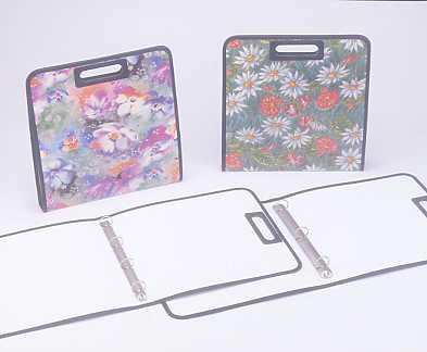 1`` 4 ``0`` RING BINDER , A4 ; OFFSET PRINTING ; WITH SEWING
