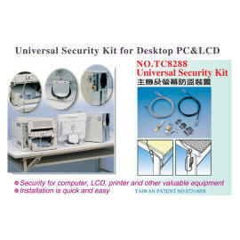 TC8288 Universal Security Kit for Desktop PC & LCD