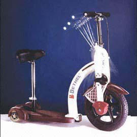 ROWING SCOOTER WITH SEAT (RUDERN Scooter mit SEAT)