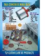 Tungsten carbide grit hole saw, Ceramic hole saw, Concrete block hole saw, Brick (Твердосплавные песок дыру видел, видел дыру керамические, бетонные блоки дыру увидел, кирпич)