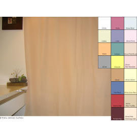 Polyester Shower Curtain - Plain Color (Полиэстер Shower Curtain - Plain цвет)