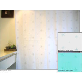 Polyester Shower Curtain - Stars (Полиэстер Shower Curtain - Stars)