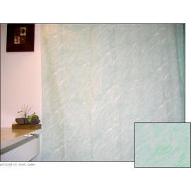 Polyester Shower Curtain - Swirl Green (Полиэстер Shower Curtain - Swirl зеленый)