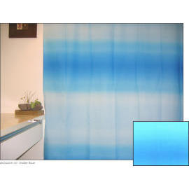 Polyester Shower Curtain - Omber Blue (Полиэстер Shower Curtain - Omber Blue)