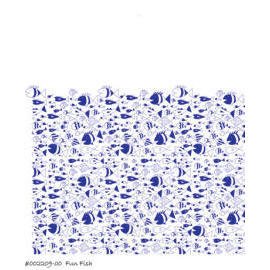 Polyester Shower Curtain - Fun Fish (Полиэстер Shower Curtain - Fun рыбы)