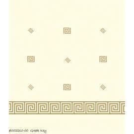 Ployester Shower Curtain - Greek Key (Ployester Shower Curtain - греческий Ключевые)