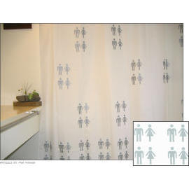 Polyester Shower Curtian - Men Women (Полиэстер душ Curtian - Мужчины Женщины)