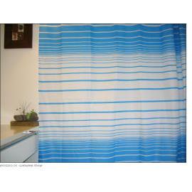 Polyester Shower Curtain - Graduated Stripe (Полиэстер Shower Curtain - Окончил Stripe)