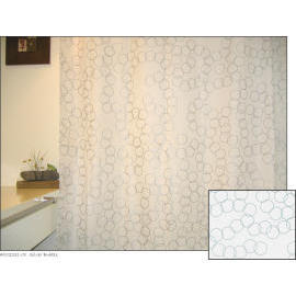 Polyester Shower Curtain - Silver Bubble (Полиэстер Shower Curtain - Silver Bubble)