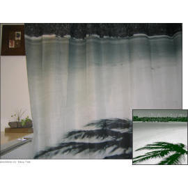 Polyester Shower Curtain - Palm Tree (Полиэстер Shower Curtain - Palm Tr)