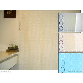 Polyester Shower Curtain - Ovals (Полиэстер Shower Curtain - Овалы)
