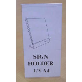 L STYLE 1/3 A4 (SIGN HOLDER) (L STYLE 1 / 3 A4 (SIGN держатель))