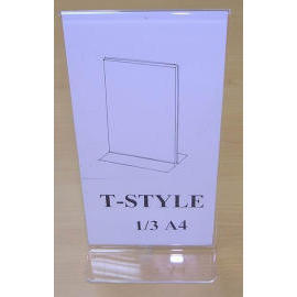 T STYLE 1/3 A4 HOLDER (SIGN HOLDER) (T STYLE 1 / 3 A4 HOLDER (SIGN HOLDER))