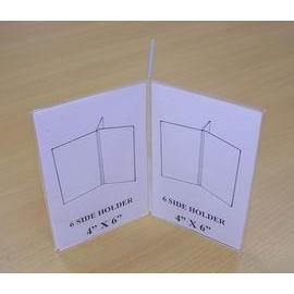 4`` X 6`` 6 SIDE HOLDER (SIGN HOLDER) (4``X 6``6 PORTE LATERALE (SIGN titulaire))