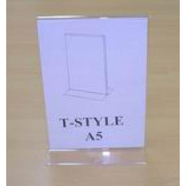 T STYLE A5 HOLDER (SIGN HOLDER) (T Style A5 Holder (SIGN держатель))
