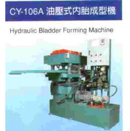 Hydraulic bladder forming machine