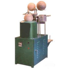 winding yarn on bladder machine - single unit