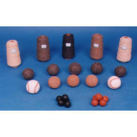 Cotton yarn for baseball production