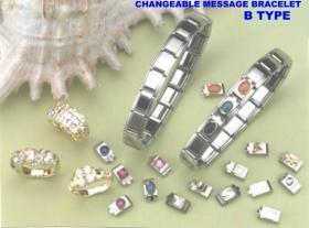 CHANGEABLE MESSAGE BRACELETS (Сменные БРАСЛЕТЫ СООБЩЕНИЕ)