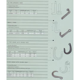 tow hook, marine hardware, rigging hardware, shackle, custom make hardware