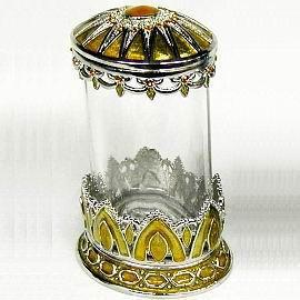 Glass Jewelry Box