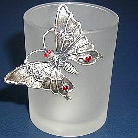 Butterfly Votive Candle Holder-2948 (Бабочка поминальной свечи Организатор 948)