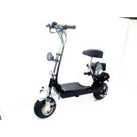 DUAL ELECTRIC & GAS POWER SCOOTER (DUAL ELECTRIC POWER & ГАЗ SCOOTER)