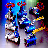 valve in stainless & carbon steel lost wax casting (investment process) industri