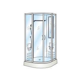 Tempered Straight Glass for Shower Door (Прямо закаленное стекло двери для душа)
