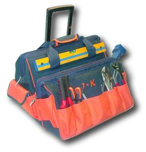 Double Gatemouth Rolling Tool Bag