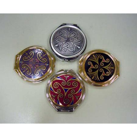 Cosmetic mirror, 2-sided, portable mirror, antiqued mirror (Косметическое зеркало, 2-сторонняя, портативные зеркала, антикварные зеркала)