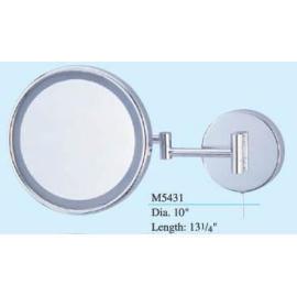 Wall mounted lighted swivel mirror, 2-arm,mirror (Настенные освещенной поворотные зеркала, 2 руки, зеркало)
