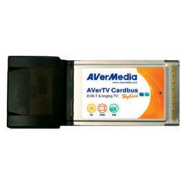 AVerTV Hybrid+FM Cardbus (pcmcia dvbt digital analog tv tuner,fm radio,hdtv)