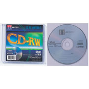 CD-RW 1pc in slim jewel case