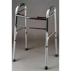 DELUXE FOLDING WALKER, TWO BUTTON (DELUXE FOLDING WALKER, deux boutons)