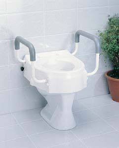 ECONOMIC TOILET RAISER WITH ARMREST