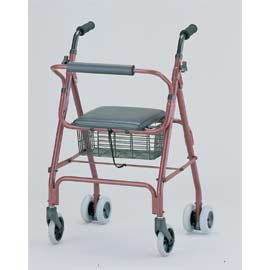 LIGHT WEIGHT ALUMINUM ROLLATOR (LIGHT WEIGHT ALUMINUM Rollator)