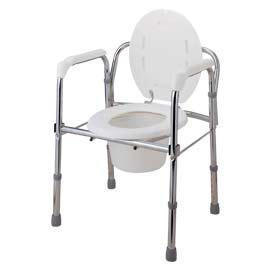 STEEL FOLDING COMMODE (Acier repliable COMMODE)