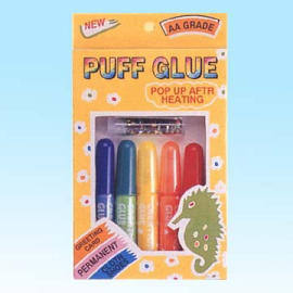 Puffy effect Glue , Stationery