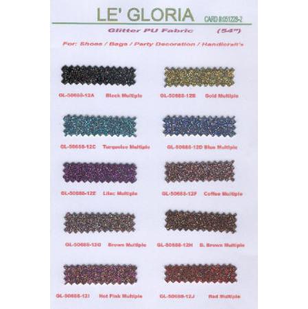 Glitter PU Leathers
