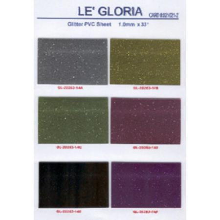 Glitter PVC sheet