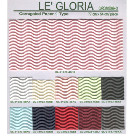 Color Corrugated Paper, for Stationery, Office,Decorations