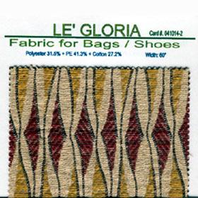 Jacquard Fabric with 31.5% Polyester + 41.3% PE + 27.2% Cotton for Bags & Shoes (Жаккардовые ткани с 31,5% полиэстер + 41,3% PE + 27,2% хлопок сумки & обувь)