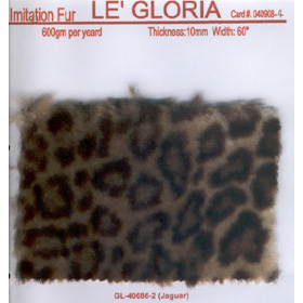 Fabrics for clothing, Imitation Fur