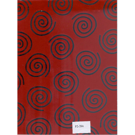 Gifts Wraping Paper Color: Red & Silver