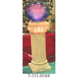 12V ROMAN COLUMN GARDEN FIBER LIGHT,W/10M CORD